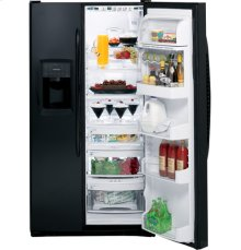 GE Profile ENERGY STAR® 25.5 Cu. Ft. Side-by-Side Refrigerator with Integrated Dispenser