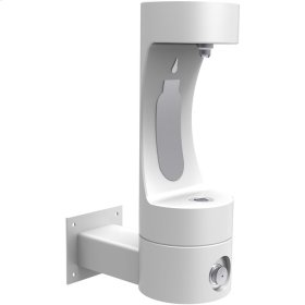 Elkay Outdoor EZH2O Bottle Filling Station Wall Mount, Non-Filtered Non-Refrigerated White