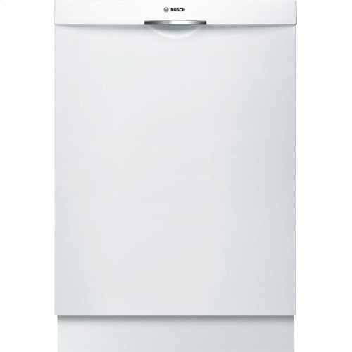300 Series built-under dishwasher 24'' White SHS863WD2N