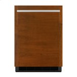 """Panel-Ready 24"""" Under Counter Solid Door Refrigerator, Right Swing, Stainless Steel"""