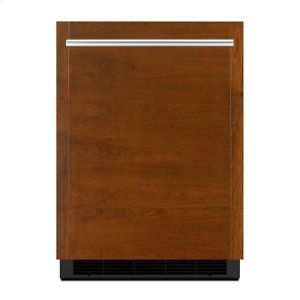 """Jenn-AirPanel-Ready 24"""" Under Counter Solid Door Refrigerator, Right Swing"""