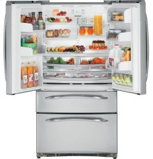GE Profile 24.9 Cu. Ft. Refrigerator with Armoire Styling and External Dispenser