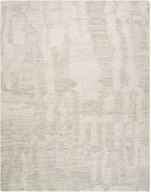 Ellora Ell01 Iv/grey Rectangle Rug 7'9'' X 9'9''