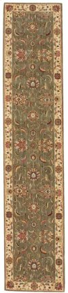 LIVING TREASURES LI04 GRE RUNNER 2'6'' x 12'