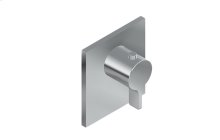 Square M-Series Thermostatic Valve Trim with Handle