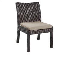 Metro II Dining - Armless Dining Chair Sunbrella (2/ctn)