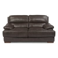 Jade Leather Loveseat Product Image