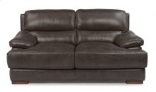 Jade Leather Loveseat