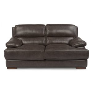 FLEXSTEELJade Leather Loveseat