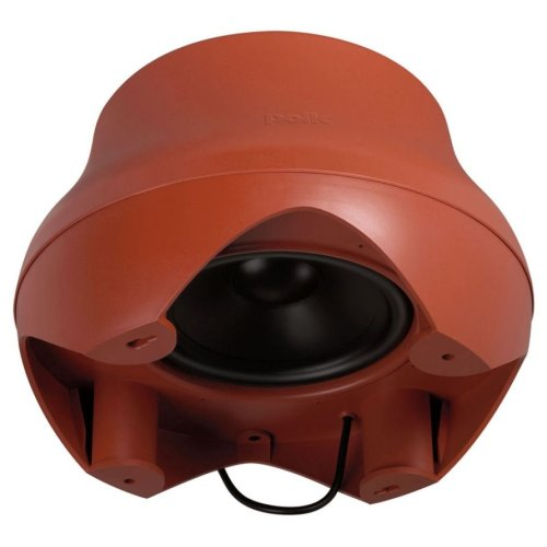 Outdoor subwoofer with 10-inch woofer. in Terracotta