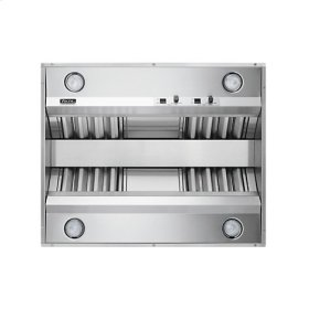 "Stainless Steel 54"" Built-In Custom Ventilator for Island Hood - VICV (54"" wide, 18"" high, 29"" deep)"