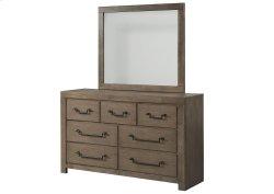 1054 Urban Swag Dresser with Mirror