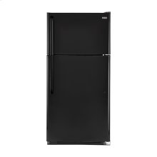 Haier 20.6-Cu.-Ft. Top Mount Refrigerator - smooth-black