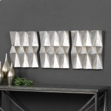 Maxton Metal Wall Decor, S/3