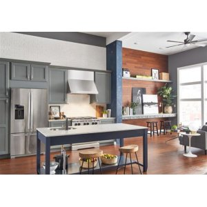 """Classico - 60"""" Stainless Steel Pro-Style Range Hood with internal/external blower options"""