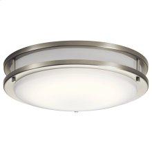 """Avon 14"""" LED Flush Mount Brushed Nickel"""