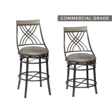 "Melva Swivel Counter Stool 22.4""x21.2""x41"""