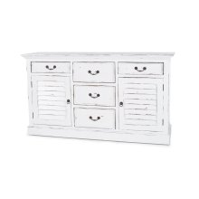 Shutter Chest w/ 5 Drawers