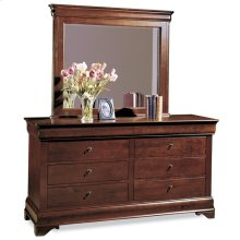 Sleigh Bed W/Low Footboard