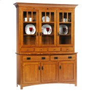 3-Door Mission Hutch & Buffet Product Image