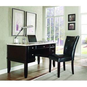 "Steve Silver Co.Monarch Parsons Chair, Black 18""x25""x38"""