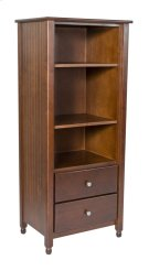 Cottage 2 Drawer Tower, Two Adjustable Shelves Product Image