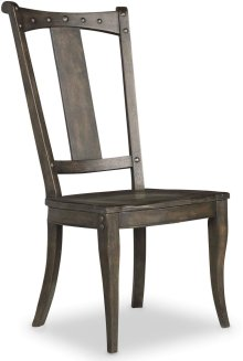 Vintage West Splatback Side Chair