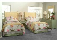 Summer Retreat Chippendale Twin Bed Headboard Product Image