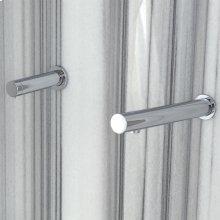 Wall-mount single-hole electronic soap dispenser.