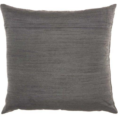 "Couture Luster E5500 Pewter 20"" X 20"" Throw Pillows"
