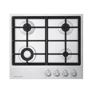 "Fisher & PaykelGas on Steel Cooktop, 24"", LPG"
