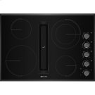 "30"" JX3™ Electric Downdraft Cooktop, Black Product Image"