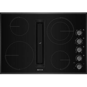 "30"" JX3™ Electric Downdraft Cooktop, Black"