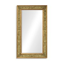 Rectangular Mirror with Gilt Renaissance Decoration