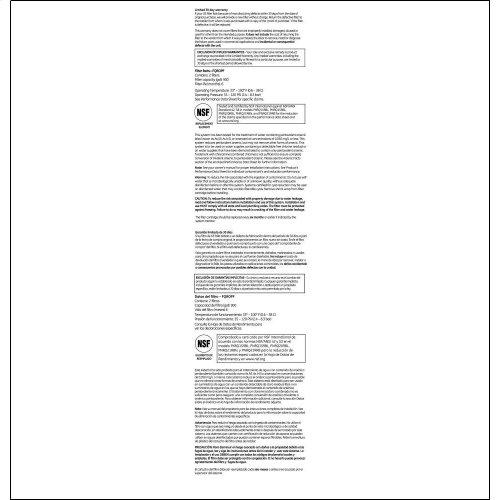 GE PROFILE REVERSE OSMOSIS REPLACEMENT FILTER SET