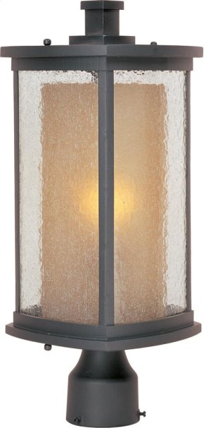 Bungalow 1-Light Outdoor Pole/Post Lantern