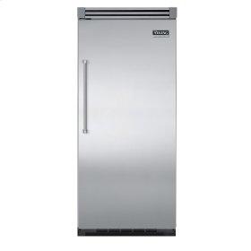 "Stainless Steel 36"" Quiet Cool™ All Freezer - VIFB Tru-Flush™ (Right Hinge Door)"