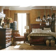 Louis Philippe-Panel Bed in Orleans