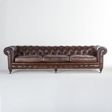 The Colonel 6-Seater Leather Sofa