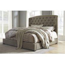 Gerlane - Dark Brown 2 Piece Bed Set (Queen)