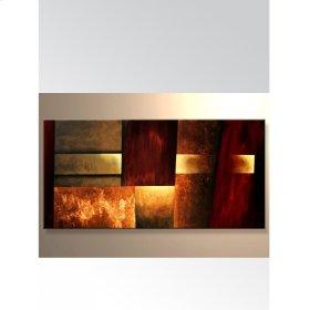 Art Canvas - Fire Red