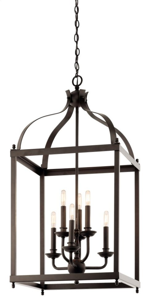 Larkin 6 Light Foyer Pendant Olde Bronze®