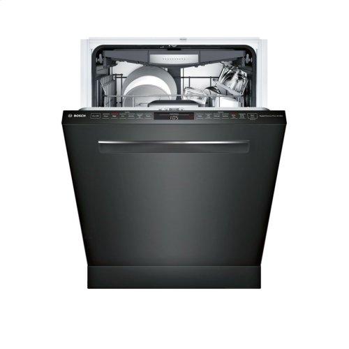 800 Series built-under dishwasher 24'' Black SHP878WD6N