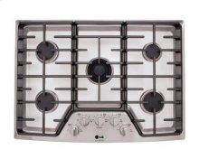 """LG Studio - 30"""" Gas Cooktop - Stainless Steel - FLOOR MODEL"""