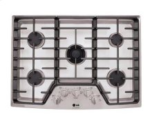 "LG Studio - 30"" Gas Cooktop - Stainless Steel - FLOOR MODEL"