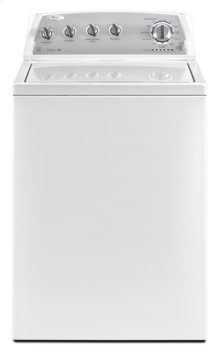 White Whirlpool® ENERGY STAR® Qualified 4.3 cu. ft. I.E.C. Equivalent* High- Efficiency Top Load Washer
