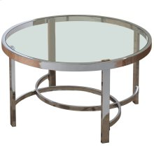 Strata Coffee Table in Chrome