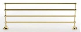 Royale Towel Rack A6626-24 - Polished Brass