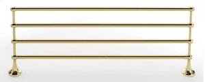 Royale Towel Rack A6626-24 - Polished Brass