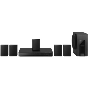 PanasonicHome Theater System with 5.1 Channel Surround Sound & 1080p Up-Convert - SC-XH105